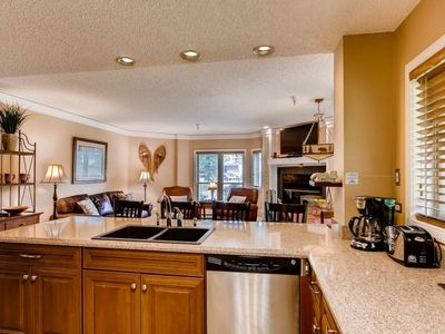 Photo for Luxury Ski-In  Condo at Peak 9 Base w/ Resort amenities and Worry-Free Booking!