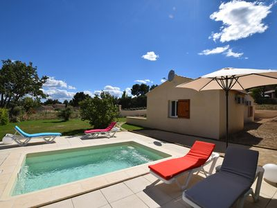 Photo for Charming Provencal Villa, Contemporary, New, between South Luberon and Durance