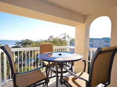 Photo for 506 Barrington Arms | Ocean & Pool Views | Heated Complex Pool | Updated Kitchen | Palmetto Dunes