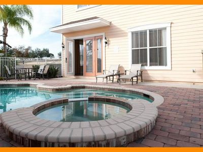 Photo for Reunion Resort 913 - villa with pool nr Disney & unlimited waterpark access