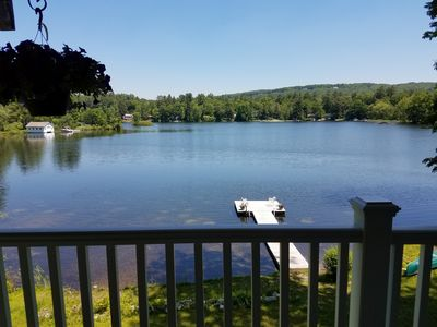 Photo for Beautiful Waterfront House Rental- Right on Lake Garfield