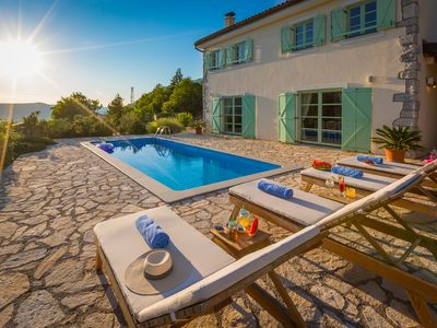 Photo for Family villa in complete privacy with heated pool, kids park, sauna & concierge