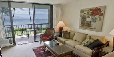 Photo for MB202 - South Maui Oceanfront Condo with Spectacular Ocean Views; 1BR/1BA Sleeps 4