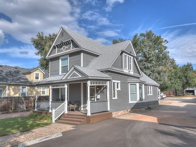 Photo for Freshly remodeled turn of the century home close to downtown
