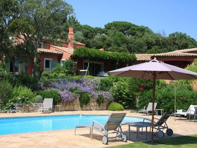 Photo for Provencal villa with pool and very large garden