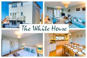 The White House - a cottage that sleeps 9 guests in 4 bedrooms - Camber