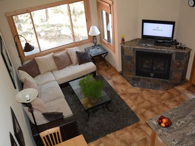 Photo for IN & OUT SKIING - Top Floor Ski Trail Condo( Quite End Unit) & Resort Amenities