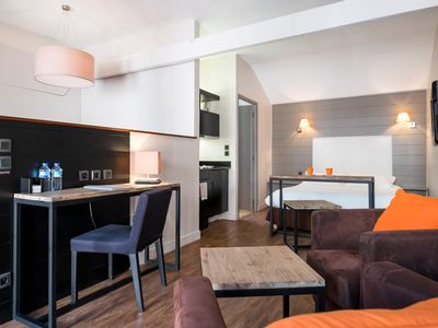 Photo for BeffrÔi - Cosy studio close to stations and old city - Welkeys