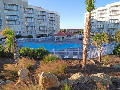 Photo for Oceanfront Condo with an updated kitchen, pool and ocean views