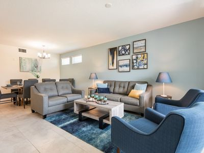 Photo for Luxury on a budget - Storey Lake Resort - Amazing Relaxing 3 Beds 2 Baths Townhome - 5 Miles To Disney