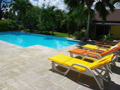Photo for VILLA WITH PRIVATE POOL & GARDEN (8 PEOPLE) ST FRANCOIS GUADELOUPE