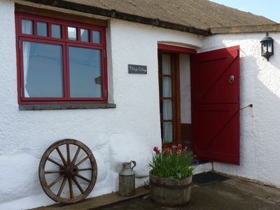 Entrance to the cottage