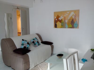 Photo for Charming & cozy studio / center Cannes / quiet / parking lot / near amenities & sea