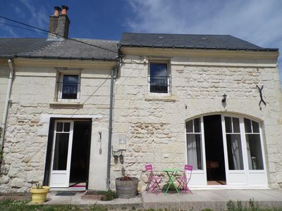 Photo for 3BR House Vacation Rental in Beaumont-en-Véron, Centre-Val de Loire