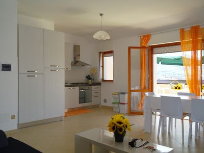 Photo for Flat in the centre town at 400m from the sea