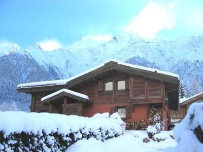 Photo for ***CHAMONIX/LesHouches *** Self-catering CHALET *7max**LOG Fire/views***