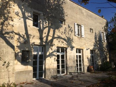 Photo for Fronsac, near the Chateau Dauphine with a garden overlooking the vineyards