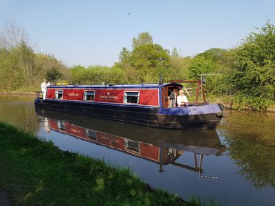 Photo for Narrowboat - Sleeps 4 - Gemini III