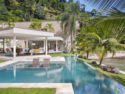 Photo for CINEMATOGRAPHIC MANSION WITH PRIVATE BEACH