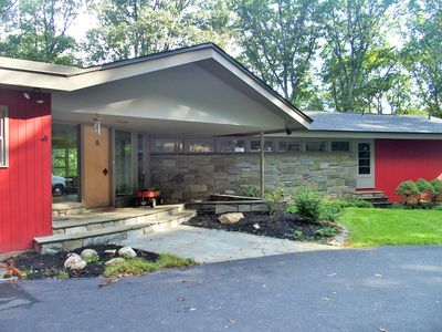 Photo for Renovated mid-century modern ranch in gated community