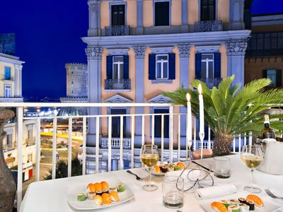 Photo for Domus Splendor - A terrace in front of hydrofoils