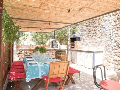 Photo for In the mountains with pool and view - Casa Can Sarales