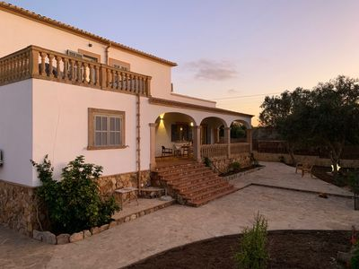 Photo for Stately, newly renovated villa in the center of Cala Llombards