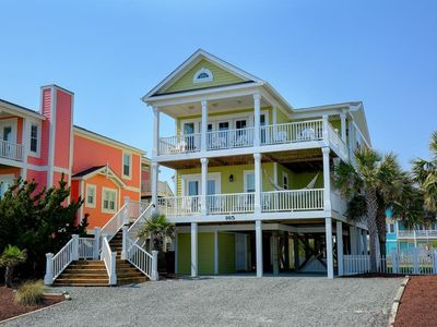 Photo for Fantastic 2nd Row Home - Community Pool & Cabana on the Beach!