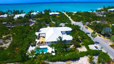 Photo for 10 Steps to Grace Bay Beach!!  5BR, Private Pool,  Why walk to the beach?