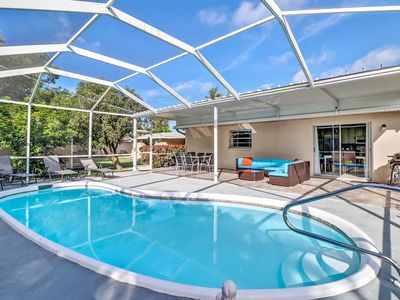Photo for Gorgeous Pool Home, a few blocks away from Vanderbilt Beach!