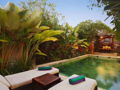 Photo for Book 1 Bedroom at Villa in Canggu, Walk to Beach