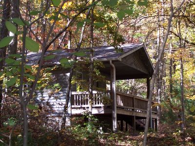 Photo for Willoughby Woods Cabins ~ Brevard NC -hiking & waterfalls (FREE NIGHT!)