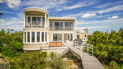 Photo for New Listing: Resort-Inspired Oceanfront Getaway w/ Expansive Outdoor Living & Private Beach Access