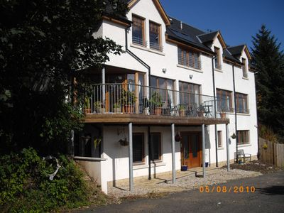 Photo for Luxury house in quiet setting, fabulous views, nr the coast, sleeps 13