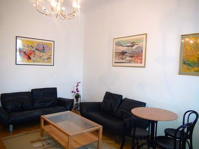 Photo for Centrally located very cosy secured apartment for 2-4 Persons with river view