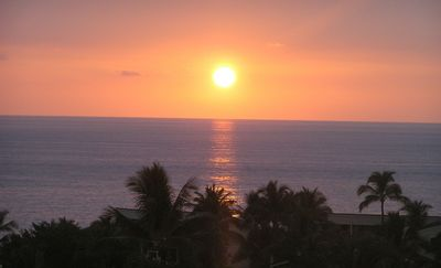 Another Beautiful Sunset! - Watch for the Green Flash from your lanai. Beautiful Hawaiian Sunsets nearly every night in the community where Kings lived.