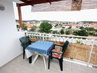 Photo for One bedroom apartment with terrace Jezera, Murter (A-5109-b)