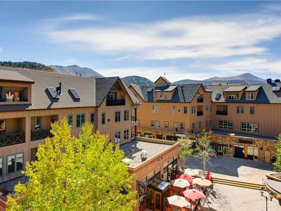 Photo for Great condo close to base of Peak 9 and town, hiking trails
