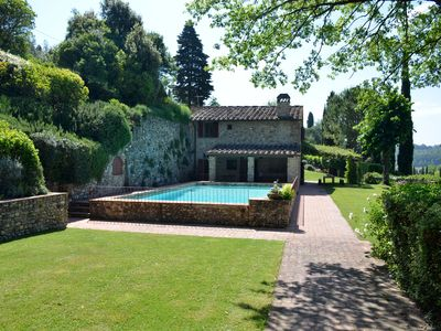 Photo for Charming house with private pool in the heart of Tuscany