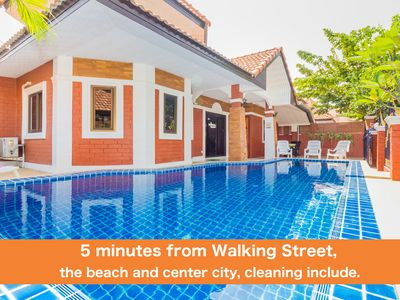 Photo for Garden Villa 4 Bedrooms near Walking Street & Beach ★★★★★