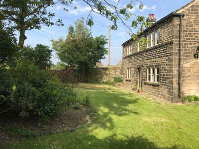 Photo for Beautiful Grade II listed stone cottage set in an acre of its own land