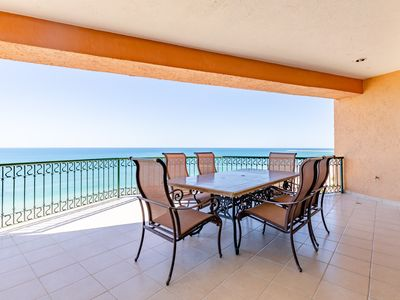 Photo for SSE 801 Beautiful ocean front 8th floor condominium at the Sonoran Sea Resort