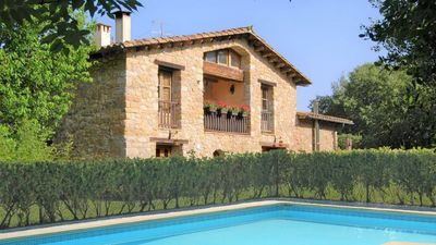 Photo for 3 bedroom Apartment, sleeps 6 in Sales de Llierca with Pool and WiFi