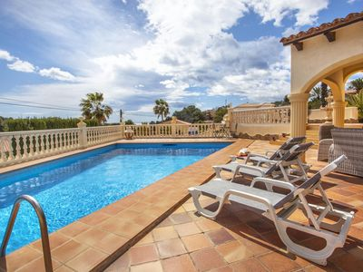 Photo for GRALLA - Holiday villa for 5 people in a quiet residential area on the Benissa coast