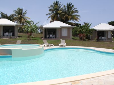Photo for Bungalow 2 standing with pool