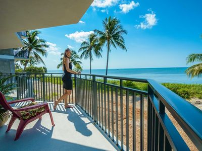 Photo for **BEST VALUE IN KEY WEST**OCEAN FRONT! Ocean view every room. 90ft Balcony