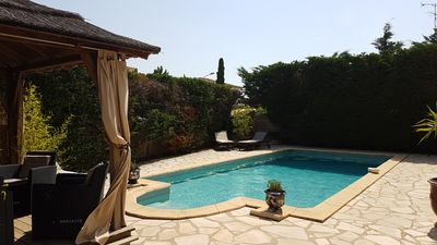 Photo for Villa with pool located in Pérols near the sea and Montpellier