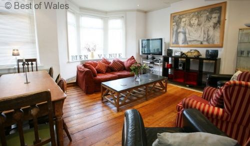 Llety Canna - beautifully decorated accommodation in a popular area of Cardiff