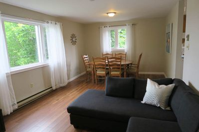 Living & Dining Area at 596 Bedford Hwy Flat