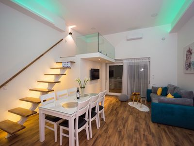 Photo for Luxury apartment with heated pool and gallery KLIS